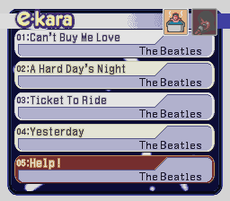 e-kara The Beatles