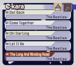e-kara The Beatles