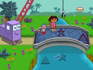 JAKKS Dora Race To Play Park