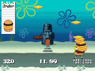 SpongeBob Fry Cook Games