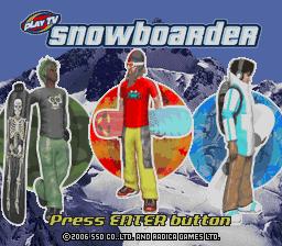 Radica Snowboarder