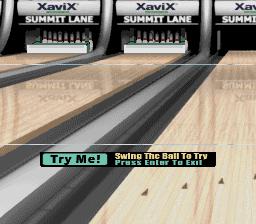 XaviX Bowling