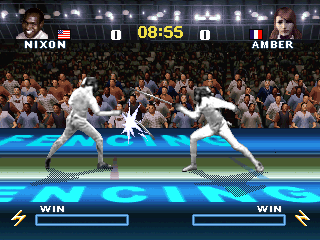 Interactive TV Games 49-in-1 Competitive Fencing