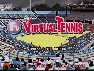 Conny TV Virtual Tennis