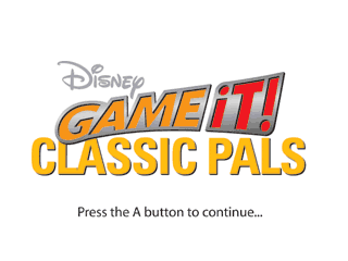 Game It Disney Classic Pals