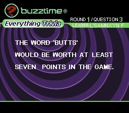 Buzztime Trivia