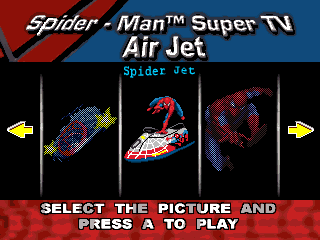 Spider-Man Air Jet