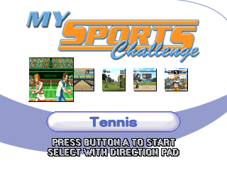 My Sports Challenge