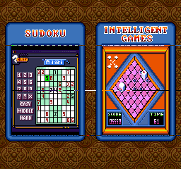Sudoku Plug & Play TV Game '6 Intelligent Games'
