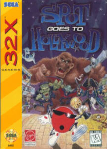 Spot Goes To Hollywood (Sega 32X) - Undumped